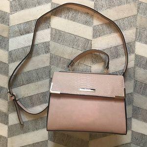 Dune London Blush Pink Crossbody Shoulder Bag